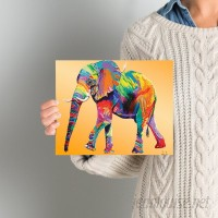 World Menagerie 'The Ride' Graphic Art Print on Canvas in Yellow WDMG7742