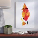 Wrought Studio Punk Bird Graphic Art on Wrapped Canvas VKGL6262