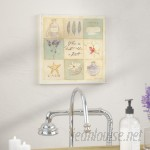 Andover Mills 'When In Doubt Take A Bath' Graphic Art Print on Wood ADML8115