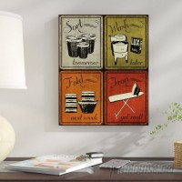 Red Barrel Studio 'Trendy and Extremely Popular Humorous Retro Laundry Room Sign' Framed Graphic Art Print GHGH1022