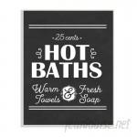 Winston Porter 'Hot Baths' Textual Art WNSP1910
