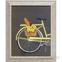 Artistic Reflections 'Bicycle I' by Gwendolyn Babbitt Framed Graphic Art AETI2848
