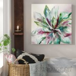 Bungalow Rose 'Succulent II' Print on Wrapped Canvas BGRS1680