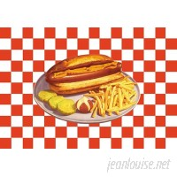 Buyenlarge 'Hot Dog' Graphic Art FAV20627
