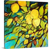 Canvas On Demand 'Lemon Tree Fun' by Jennifer Lommers Painting Print on Canvas CAOD5867