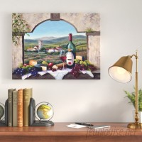 Charlton Home A Tuscany Vista Painting Print on Wrapped Canvas CHLH7390