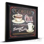 CYRG 'Coffee Café' Framed Vintage Advertisement CYRG1093