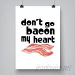 East Urban Home 'Kitchen Bacon' Textual Art ESRB7944