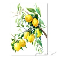 East Urban Home 'Lemon Tree 2' Graphic Art Print EABM1309