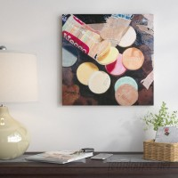 East Urban Home 'Necco Wafers' Painting Print on Canvas ESUR5724