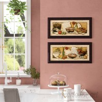 Fleur De Lis Living 'Passion for Cooking I' 2 Piece Framed Print Set FDLL4841