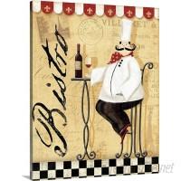 Great Big Canvas 'Chef's Break I' by Veronique Charron Vintage Advertisement GRNG4854