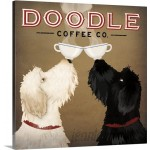 Great Big Canvas 'Doodle Coffee Double IV' by Ryan Fowler Vintage Advertisement GRNG4723