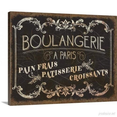 Great Big Canvas 'Parisian Signs Vintage Advertisement GRNG4449