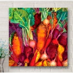 GreenBox Art 'Root Vegetables' by Judith Jarcho Graphic Art on Canvas GNBX2341