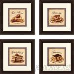 Red Barrel Studio 'Kitchen Torta Alpine' 4 Piece Framed Vintage Advertisement Set RDBT5807