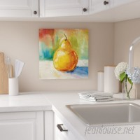 Three Posts 'Fresh Pear' Painting Print on Wrapped Canvas TRPT3404