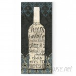 WexfordHome 'Wine Collection I' by Carol Robinson Textual Art on Wrapped Canvas WEXF1939