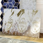 Willa Arlo Interiors 'Champagne Showers' Graphic Art on Wrapped Canvas WRLO2184