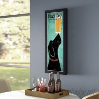 Winston Porter 'Black Dog Brewing Company' by Ryan Fowler Framed Vintage Advertisement WNPR8070