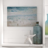 Beachcrest Home 'The Beach' Painting Print on Canvas BCHH7304