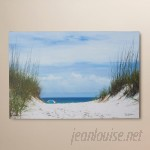Beachcrest Home Ocean Path Photo Graphic Print on Canvas SEHO1390