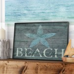 Beachcrest Home Wall Plaque 'It's Better at the Beach Starfish' Textual Art BCHH6194