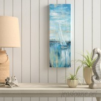 Breakwater Bay 'Evening Bay III' Oil Painting Print on Wrapped Canvas BKWT2111