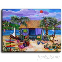 DiaNocheDesigns 'Island Time' by Patti Schermerhorn Painting Print on Wrapped Canvas DNOC2042