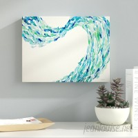 Ebern Designs 'Flow' Painting Print on Wrapped Canvas EBRD1668