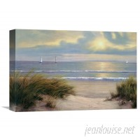Global Gallery 'Gentle Breeze' by Diane Romanello Painting Print on Wrapped Canvas VHY5053