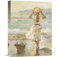 Global Gallery 'Seaside Summer I' by Vitali Painting Print on Wrapped Canvas VHY4283