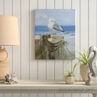 Highland Dunes 'Keeping Watch I' Oil Painting Print on Wrapped Canvas HIDN5063