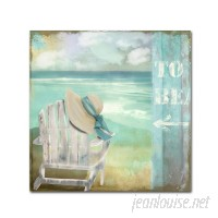 House of Hampton 'By the Sea I' Painting Print on Wrapped Canvas HMPT4999