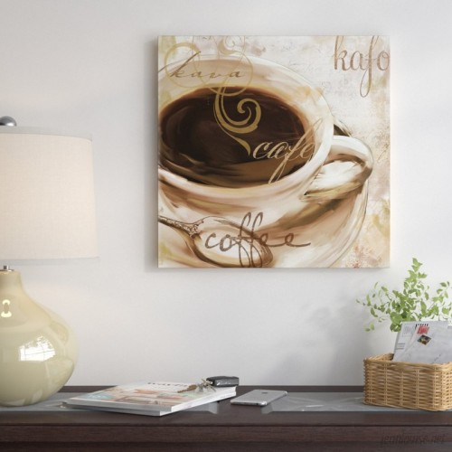 East Urban Home 'Le Cafe' Graphic Art Print ESRB7007