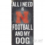 Fan Creations NCAA Football and My Dog Textual Art Plaque FCR1720