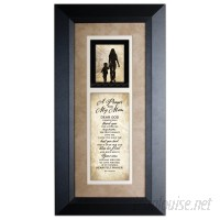 The James Lawrence Company 'Prayer For My Mom' Framed Textual Art TJLC1289