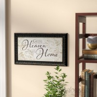Winston Porter 'Because Someone We Love is in Heaven' Framed Textual ArtBrown WNPR2960