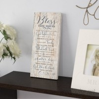 Winston Porter 'Bless This House…' Textual Art Plaque WNPR8438