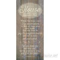 Winston Porter 'House Blessing…' Textual Art Plaque WNPR8428